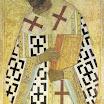 Иконостас Успенского собора во Владимире. Иоанн Златоуст. 1408. Андрей Рублёв.jpg